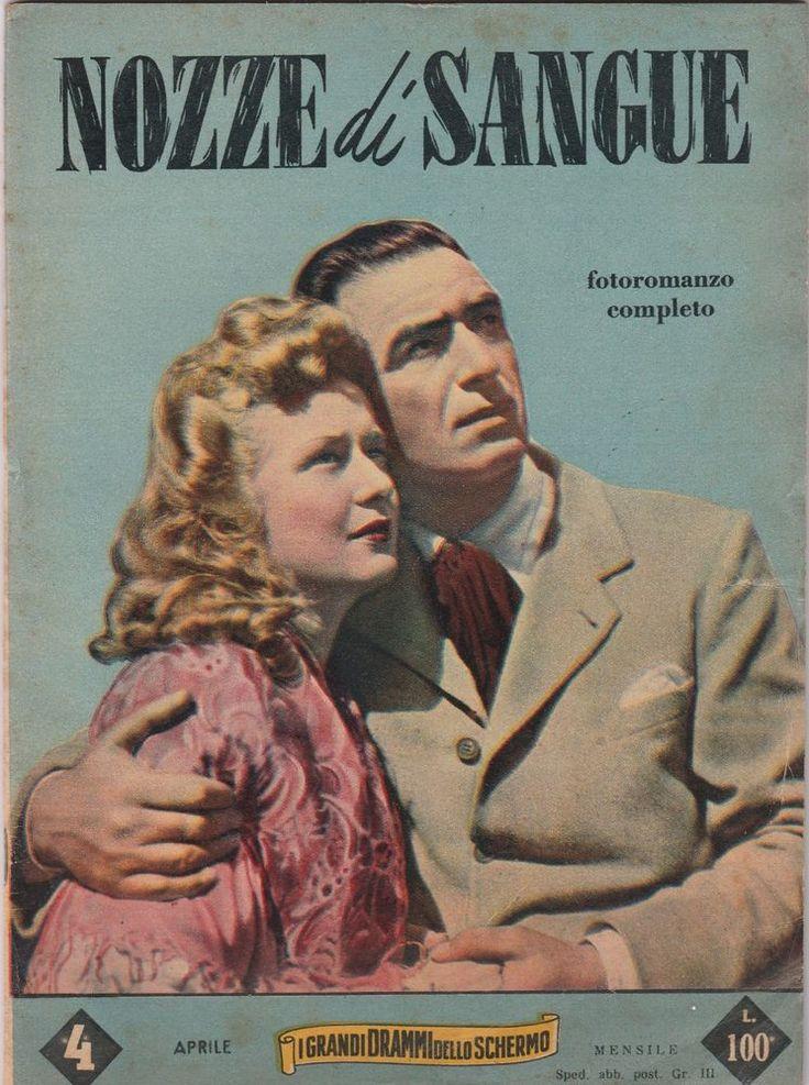 I GRANDI DRAMMI DELLO SCHERMO Nozze di Sangue con F. Giachetti, 1954 -L5297