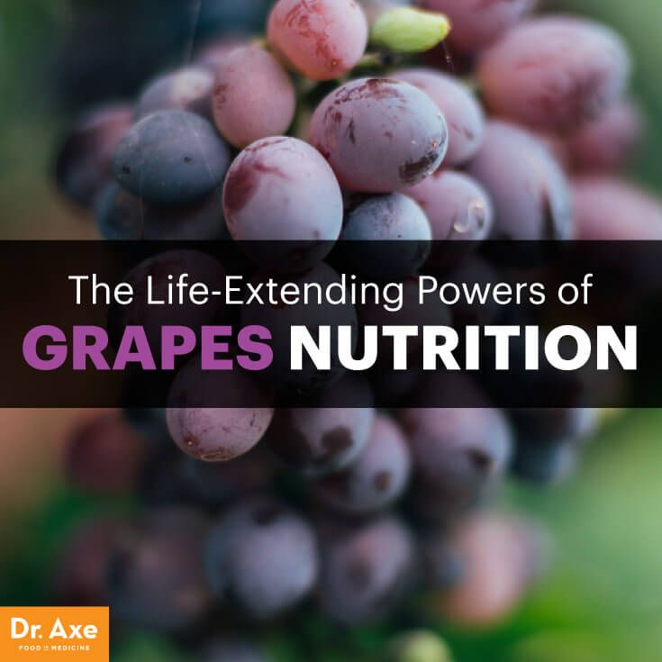 Grapes nutrition - Dr. Axe http://www.draxe.com #health #Holistic #natural