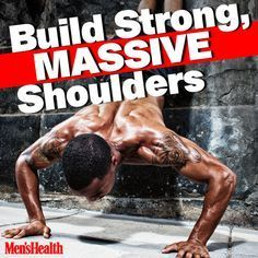 You can do it. #shoulders #exercise #workout http://www.menshealth.com/fitness/all-new-pushup-circuit-builds-strong-massive-shoulders?cid=soc_pinterest_content-fitness_july14_buildmassiveshoulders
