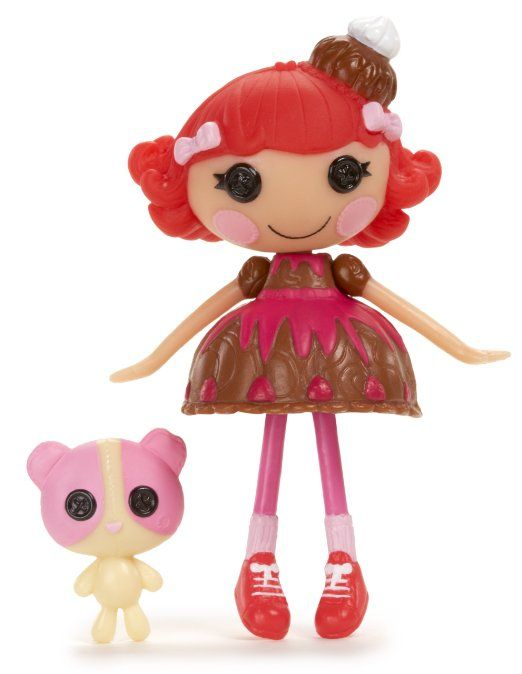 Amazon.com: Lalaloopsy Mini Doll, Choco Whirl-N-Swirl: Toys & Games