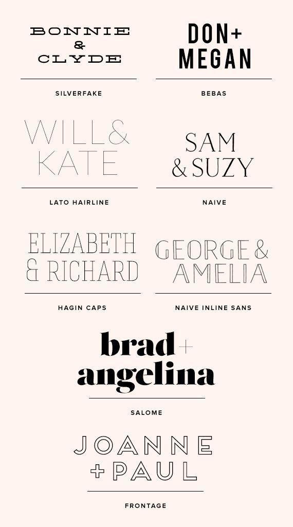 inexpensive or free fonts | T Y P O G R A P H Y | Pinterest