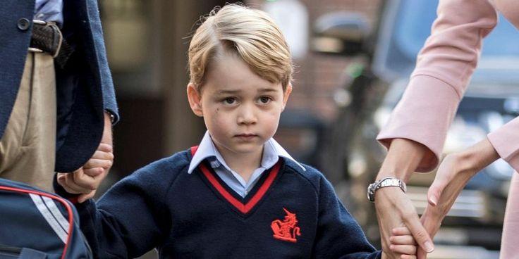 A sus cuatro años de edad el príncipe George, hijo del príncipe William y Kate Middleton, empieza sus estudios en el colegio privado Saint Thomas