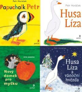 Dětské knihy Petra Horáčka