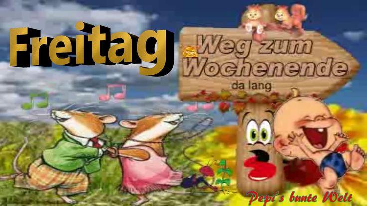 FreitagDer Weg zum WochenendeLiebe Grüße die vom Herzen kommenfür Dic...