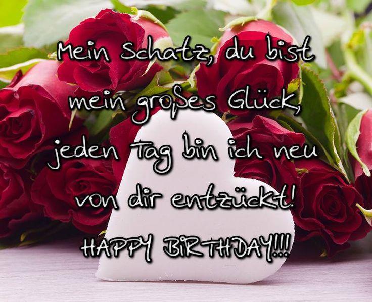 Mein Geburtstag Schatz Wünsche
