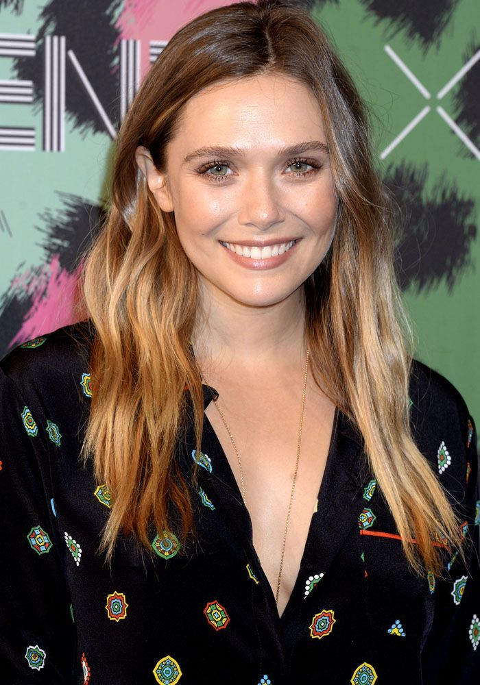 Elizabeth Olsen at the H&M x Kenzo launch show in New York on October 20, 2016