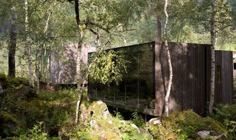 Jensen & Skodvin architects landscape hotel set to open this summer, consisting of detached small independent houses