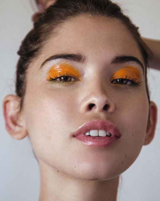 orange #eyeshadow #fashion #pixiemarket                                                                                                                                                                                 More