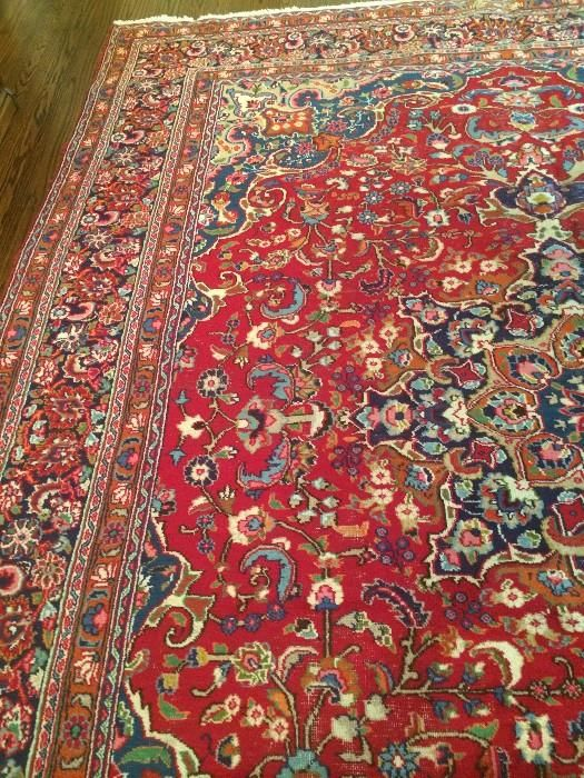 9.9 x 12.3 antique Persian Kashan rug  New Divide & Conquer sale starting this Thursday, September 24-26; check out the details here:  http://divideandconquerofeasttexas.com/nextsales.php  #estatesales #consignments #consignment #tyler #tylertx #tylertexas #organizing #organizers #professionalorganizer #professionalorganizers #movingsale #movingsales #moving #sale #divideandconquer #divideandconquerofeasttexas #divideandconquereasttexas #marthadunlap #martha #dunlap