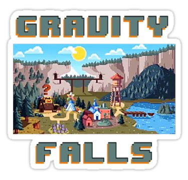 8-Bit Gravity Falls.... the one from soos dreams ( nom, nom , nom, eating my friends, nom)