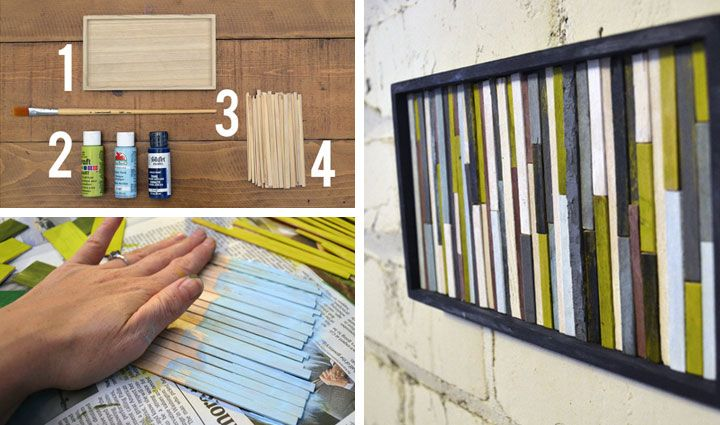 26 stunning diy home decor ideas on a budget diy wall Decorate a large wall cheaply