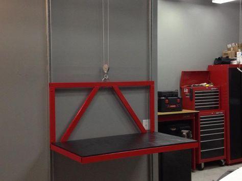 My DIY Attic Lift Video - The Garage Journal Board