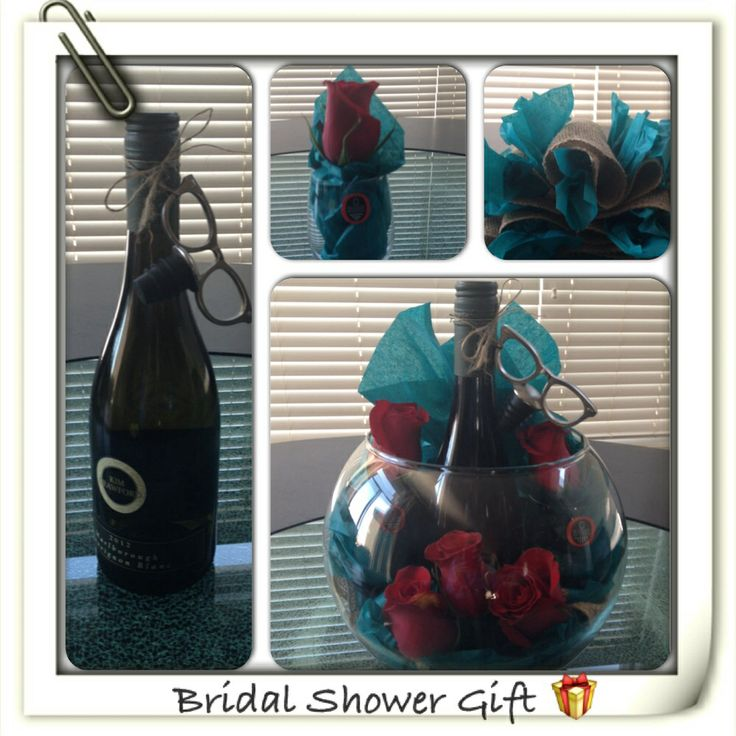 wine wedding shower gift poem%0A Bridal shower gift for the wine lover  Includes  Bottle of wine  wine  stopper