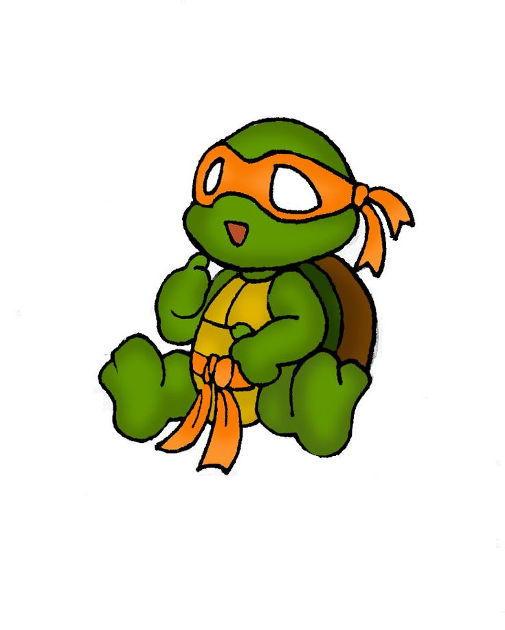 Cute Ninja Turtle Drawing Images & Pictures - Becuo