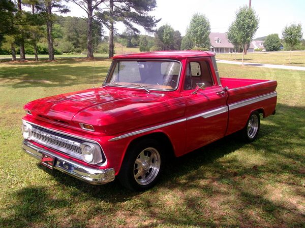 1966 Chevy Truck...change the color to brown and this truck is almost identical