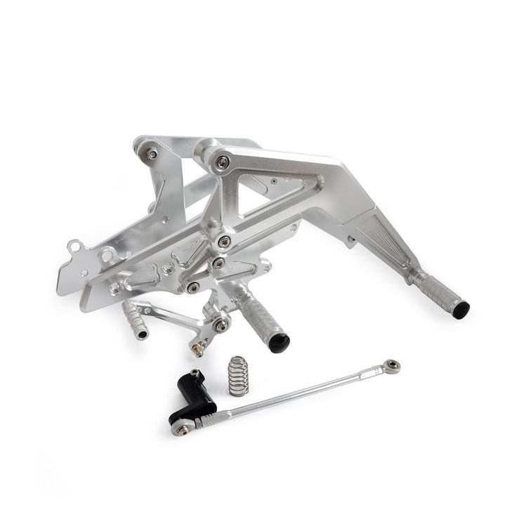 ==> [Free Shipping] Buy Best Sliver CNC Rear Sets Footrests for Kawasaki Ninja 650 (EX650) ER-6F 2012 2013 2014 2015 2016 Motorcycle Parts Online with LOWEST Price | 32705542204