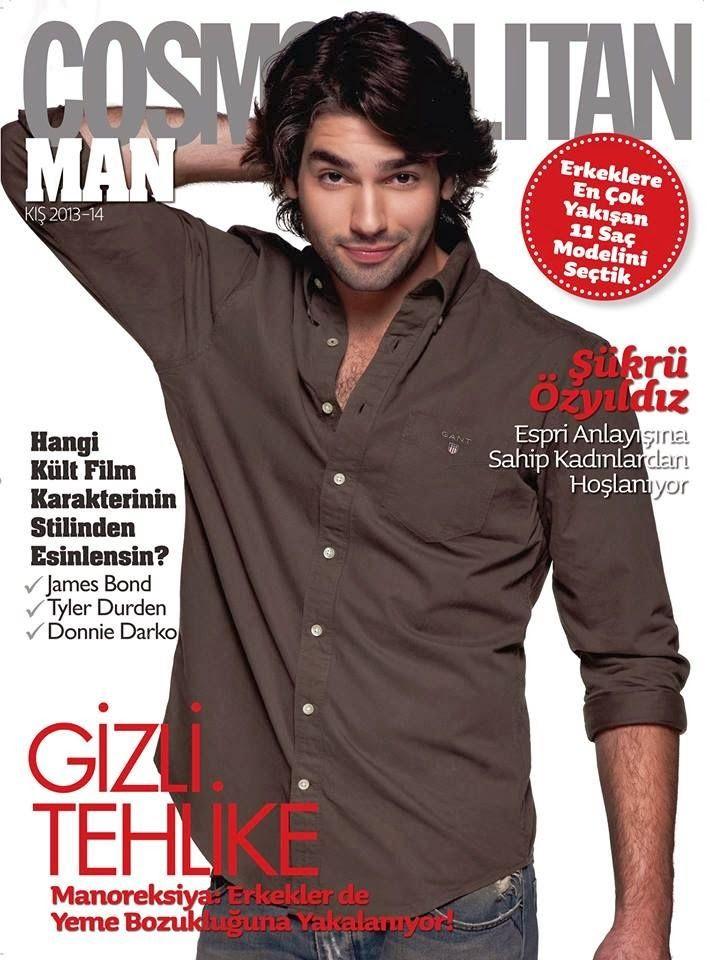 Sükrü Özyildiz en portada de Cosmopolitan Man Turquía Noviembre 2013 | Male Fashion Trends