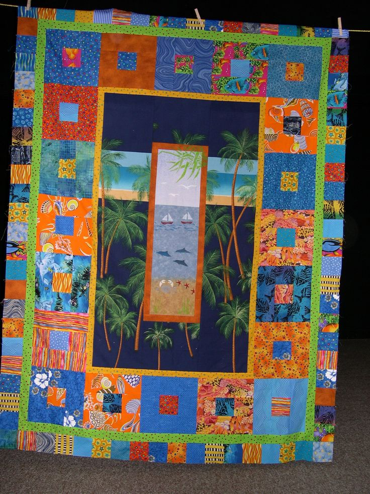 Huw's 21st B'day  quilt by me.