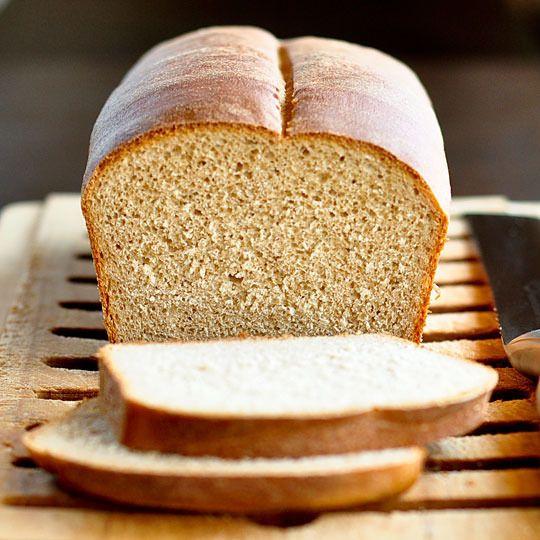 Baking Recipe: 50% Whole Wheat Bread: Fun Recipes, Homemade Bread, Basic, Food, Bread Recipes, Baking Recipe, Breads, Whole Wheat Bread