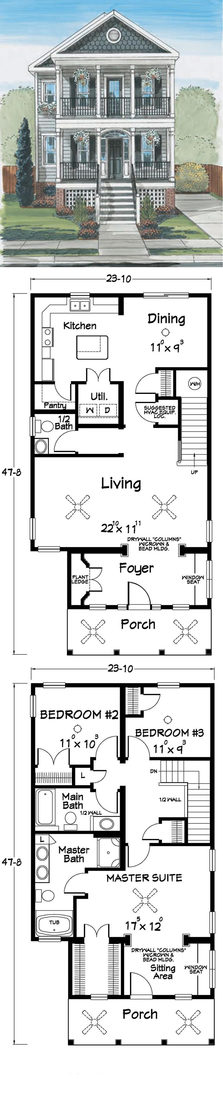 find this pin and more on two story homes - Home Floor Plans