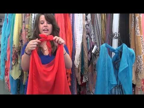 How to Make a Vest from a Scarf!  this is SOOO easy & cute!! definitely trying it!