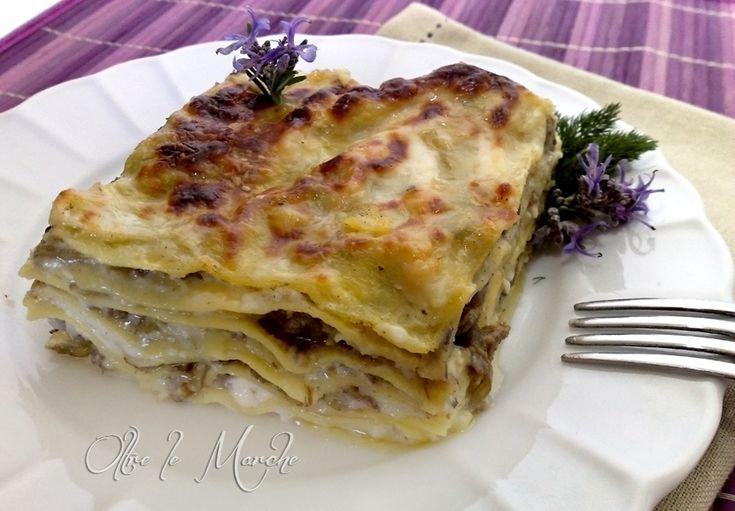 Lasagna ai carciofi ricetta