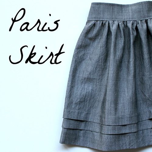 I made this skirt 25 years ago in white linen and about 14 inches longer Time to make the shorter version!