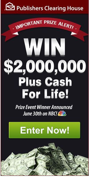Pch Nbc 15000000 Summer Prize Prizes t Giveaway