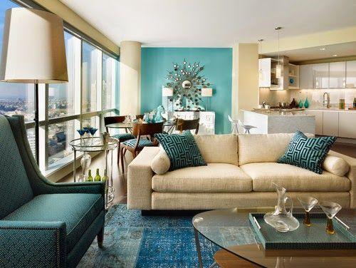 Living Styles: Trendové farby v interiéri pre jar 2015 - Scuba Blue