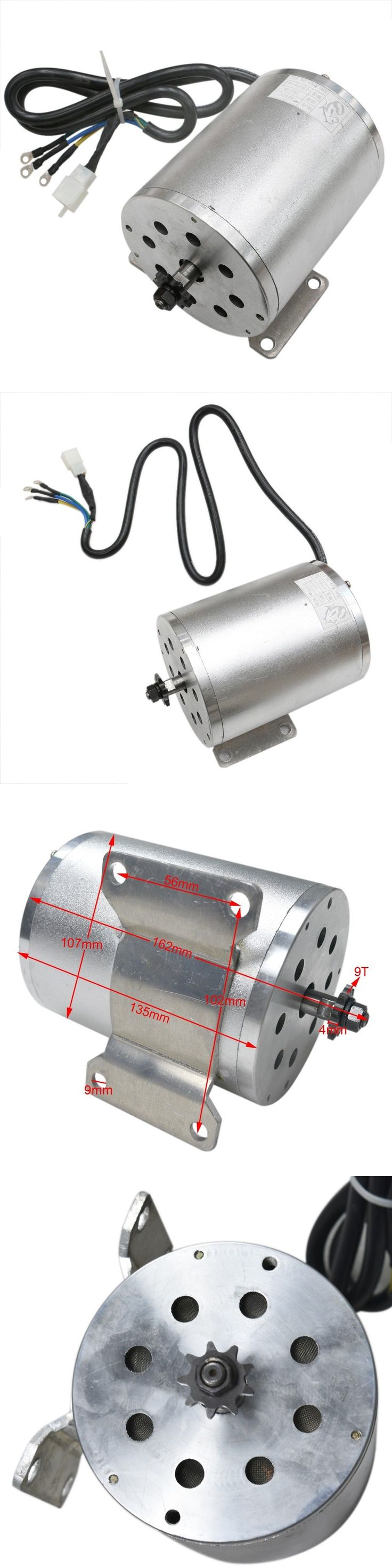 Parts and Accessories 11332: 1800W 48V Brushless Dc Motor For Electric Bicycle Go-Kart Buggy Atv -> BUY IT NOW ONLY: $119.95 on eBay!