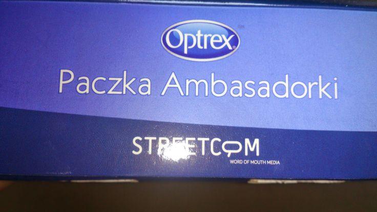 Kampanie streetcom: Już jest optrex actimist spray #optrex #zdroweoczy
