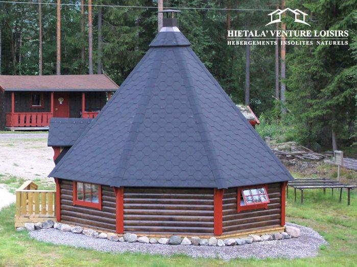 exterieur kota grill 25m²  http://www.hietala-aventure-loisirs.com/