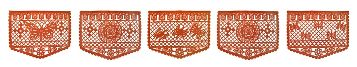 Monarch Butterfly Papel Picado Banner $14.40
