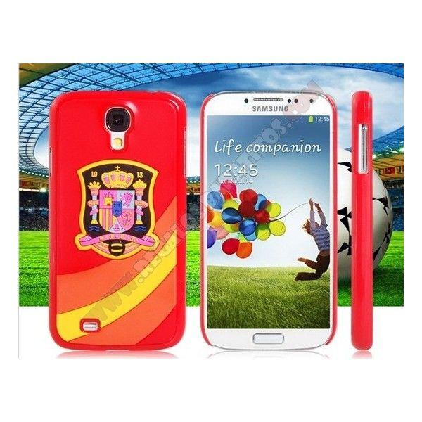Carcasa divertida diseño España para Galaxy S4 - Vamos a animar a nuestra seleccion ahora en el campenato del mundo Brasil 2014 con esta simpatica Carcasa divertida diseño España para Galaxy S4