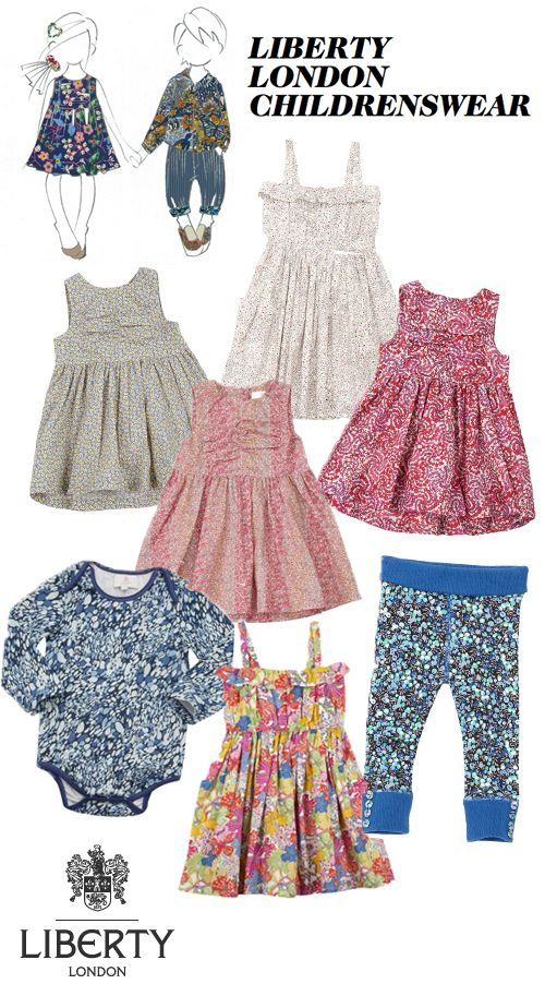 Iconic Liberty of London Launch a Childrenswear Range