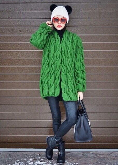 Lalo Cardigans | emerald green