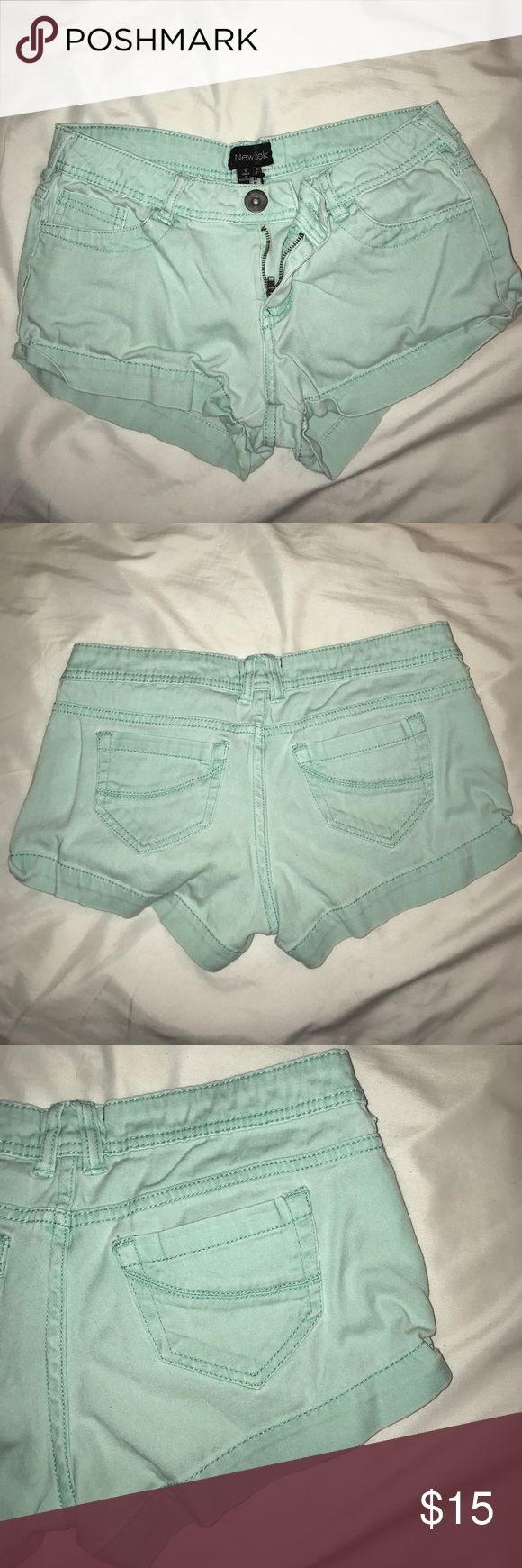 Blue shorts Size 5 Size 5 New Look shorts New Look Shorts
