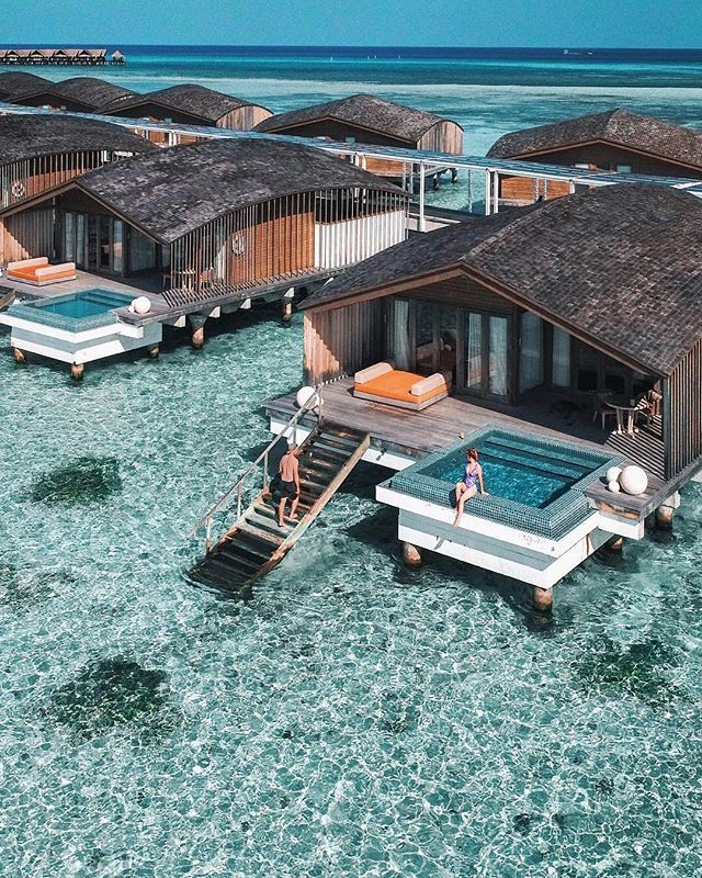 Club Med Finolhu Villas #Maldives Photo @bradjarman @lioninthewild #honeymoon #watervilla #poolvilla #hotel #maldivesislands #vacation #wonderful_places #tlpicks #paradise #holiday – Kali Amato