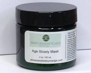 The Age Slowly Face Mask from Wexford based Irish skincare company Skin Essentials by Mariga is a 60ml (8 applications) tub of luxury!