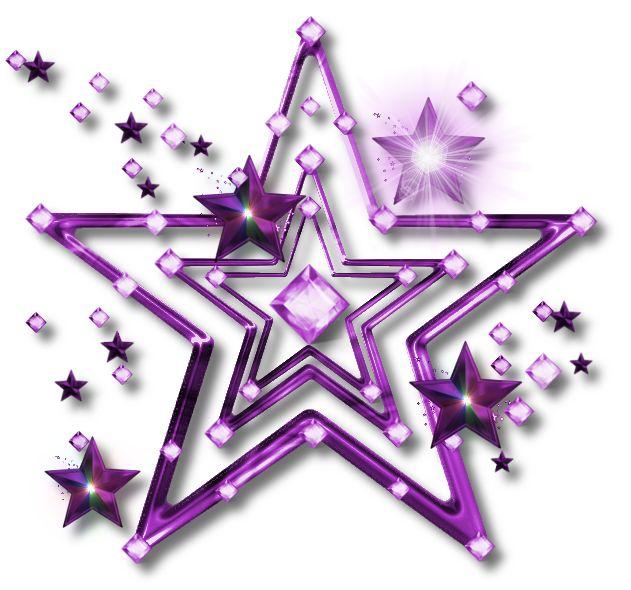 purple and gold stars - photo #30