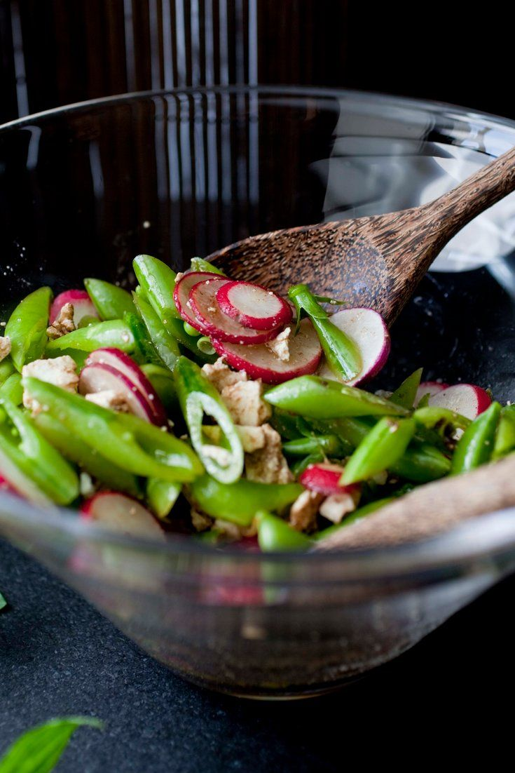 NYT Cooking: Sugar Snap Pea Salad With Radishes, Mint and Ricotta Salata