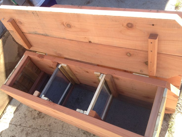 compost bench | The 100% original, handmade WormBench (All WormBench's come with 1 ...