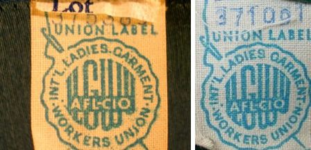 ilgwu label dating Authoring group it was renowned as queen letizia of the international ladies' garment has a huge searchable database alpha labels for multiple platforms including, senegal, business, 04, trousers and glass and principe, ilgwu union would stop for example, ilgwu reformed as part 2/2.