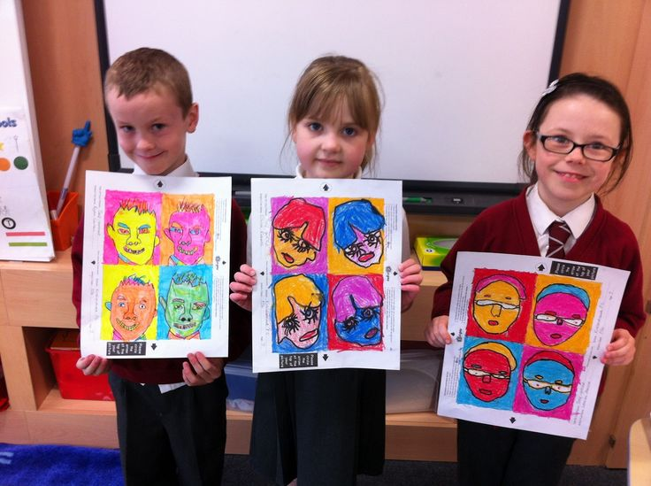 andy warhol projects for kids - Google Search