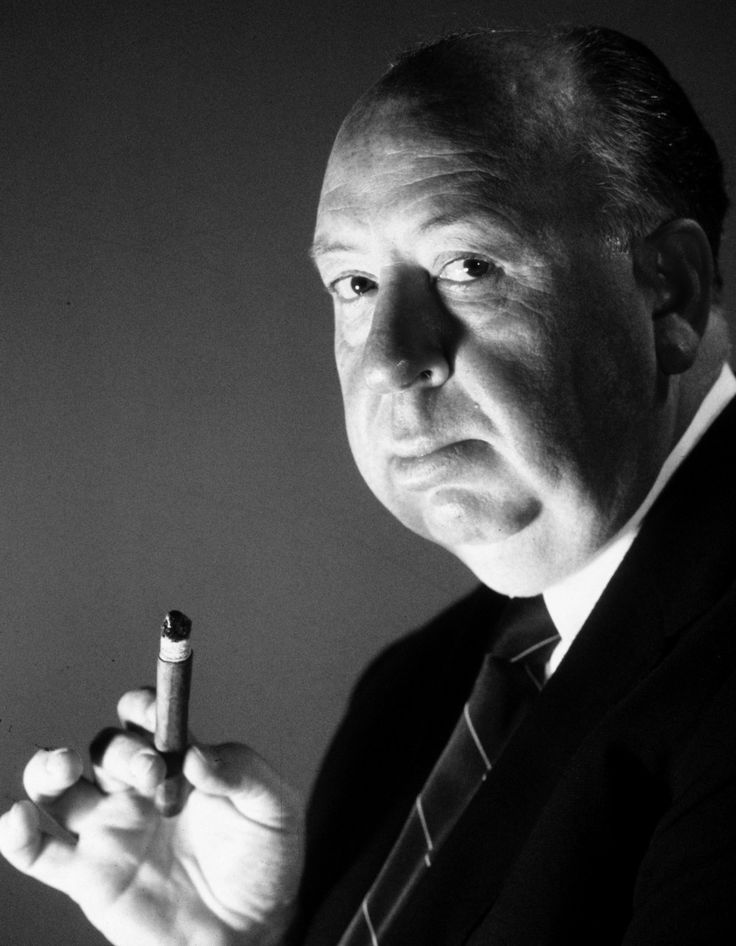 """I am a typed director. If I made """"Cinderella,"""" the audience would immediately be looking for a body in the coach. —Alfred Hitchcock #portrait #photography"""