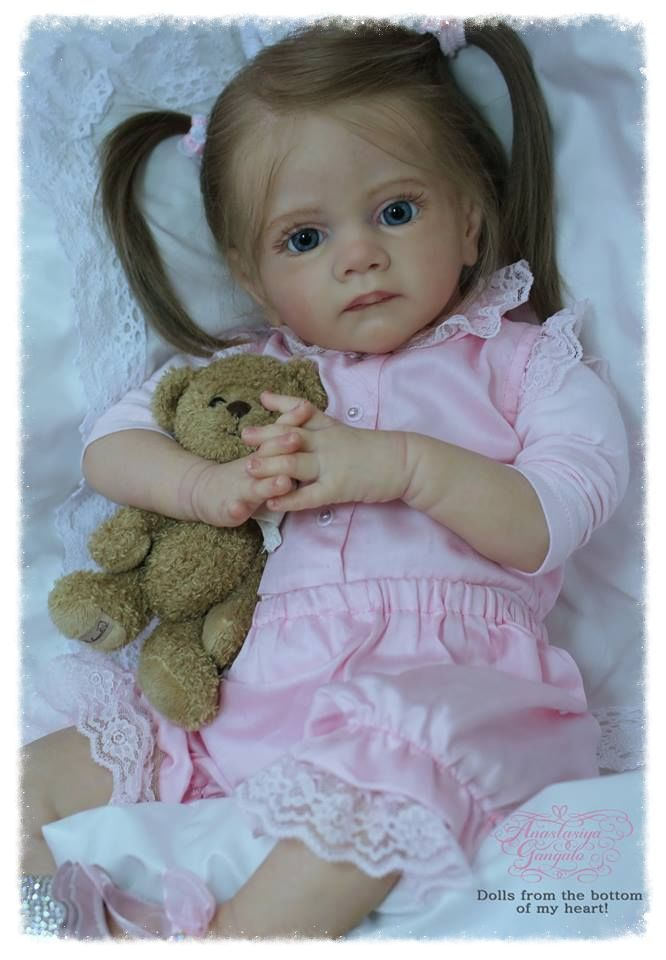 Frida kit by Karola Wegerich - Online Store - City of Reborn Angels Supplier of Reborn Doll Kits and Supplies