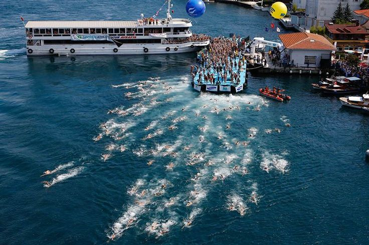17 Best images about Bosphorus Cross-Continental Swimming ...