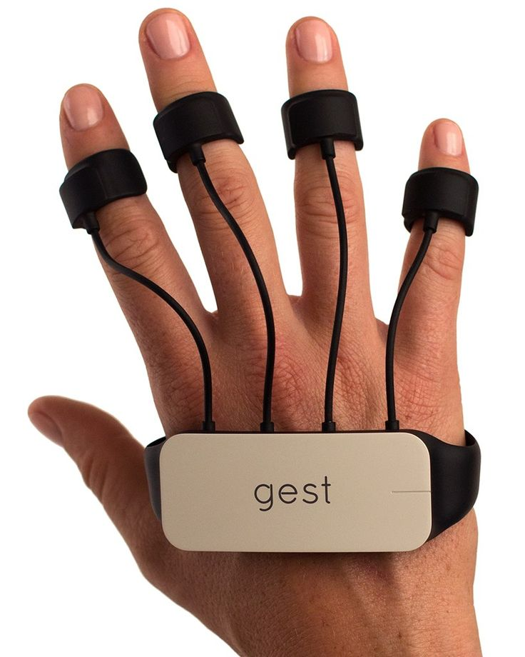 engineers packed 15 discreet sensors into each hand so the wearable device has an accurate picture of what the hands are doing, no matter their orientation.