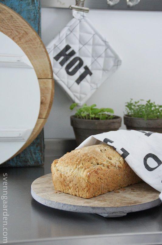 Svenngården: Oppskrift: Glutenfritt brød
