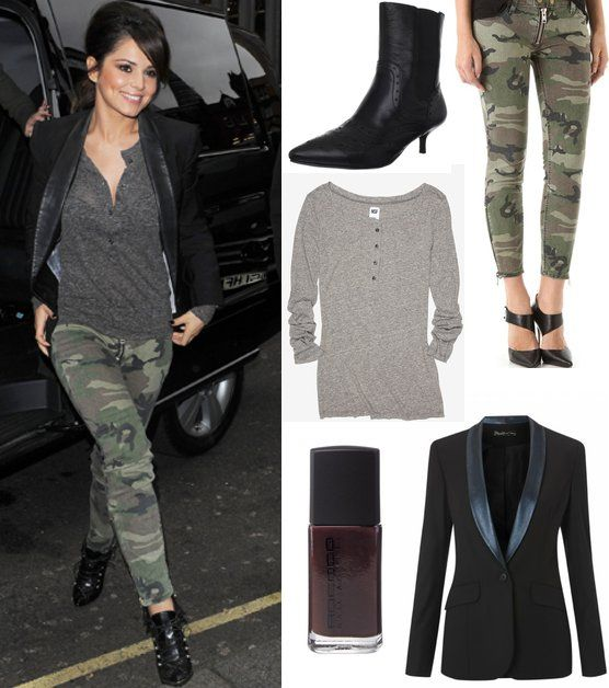 images of camaflage outfits | Celebrity Trends For Less